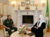 Встреча Святейшего Патриарха Кирилла с министром обороны РФ С.К. Шойгу