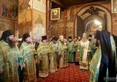 Председатель Синодального отдела по монастырям и монашеству возглавил торжества по случаю престольного праздника Саввино-Сторожевского монастыря