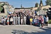 В г. Кировское Донецкой области почтили память погибших при разрушении храма св. Иоанна Кронштадтского