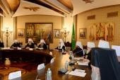 Святейший Патриарх Кирилл возглавил заседание Высшего Церковного Совета Русской Православной Церкви