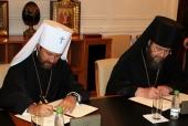 Подписано соглашение о сотрудничестве между Общецерковной аспирантурой и Синодальным отделом по тюремному служению