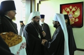 Митрополит Чешских земель и Словакии Ростислав прибыл в Москву