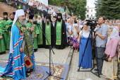 Тысячи верующих в Святогорской лавре почтили память преподобного Иоанна Затворника