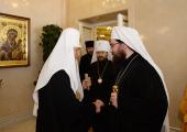 Святейший Патриарх Кирилл встретился с Блаженнейшим Митрополитом Чешских земель и Словакии Ростиславом