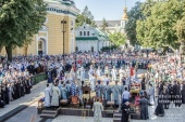 Митрополит Киевский и всея Украины Онуфрий возглавил торжества по случаю престольного праздника Киево-Печерской лавры