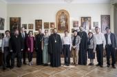 Делегация Государственного управления КНР по делам религий посетила Санкт-Петербургскую духовную академию