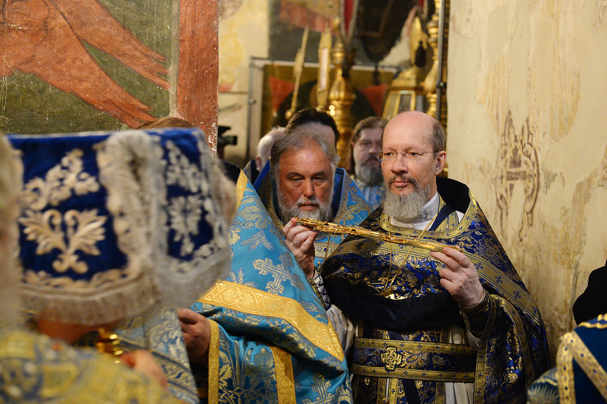 Служение Предстоятелей Русской Православной Церкви и Православной Церкви Чешских земель и Словакии в праздник Успения Пресвятой Богородицы