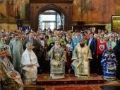 Слово Святейшего Патриарха Кирилла в праздник Успения Божией Матери после Литургии в Успенском соборе Московского Кремля