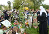 В Переделкино прошел детский праздник «В гостях у Патриарха»