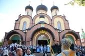 Состоялись торжества по случаю 125-летия Пюхтицкого ставропигиального монастыря