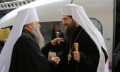 Предстоятель Православной Церкви Чешских земель и Словакии прибыл в Санкт-Петербургскую митрополию
