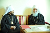 Председатель Отдела внешних церковных связей посетил Белград