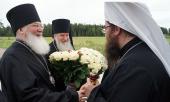 Блаженнейший Митрополит Ростислав посетил Валаамский Спасо-Преображенский монастырь