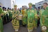 В Брянск принесены мощи преподобного Силуана Афонского
