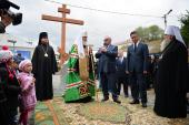 Слово Святейшего Патриарха Кирилла после закладки собора в Горно-Алтайске