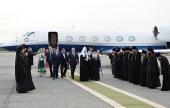 Начался визит Святейшего Патриарха Кирилла в епархии Сибири и Дальнего Востока