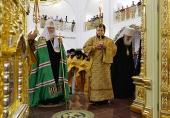 4 сентября 2016 года, в Неделю 11-ю по Пятидесятнице, Святейший Патриарх Московский и всея Руси Кирилл совершил чин великого освящения кафедрального собора Рождества Христова в г. Южно-Сахалинске и Божественную литургию в новоосвященном храме