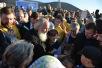 Патриарший визит в Анадырскую епархию. Прибытие. Закладка храма в Певеке