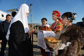 Начался Патриарший визит в Анадырскую епархию