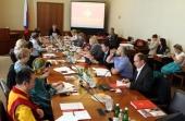 Ответственный секретарь Патриаршей комиссии принял участие в заседании Совета по защите семьи при Уполномоченном по правам ребенка