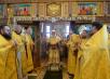 Патриарший визит в Анадырскую епархию. Литургия в Троицком соборе г. Анадыря