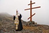 Слово Святейшего Патриарха Кирилла перед молебном на острове Ратманова