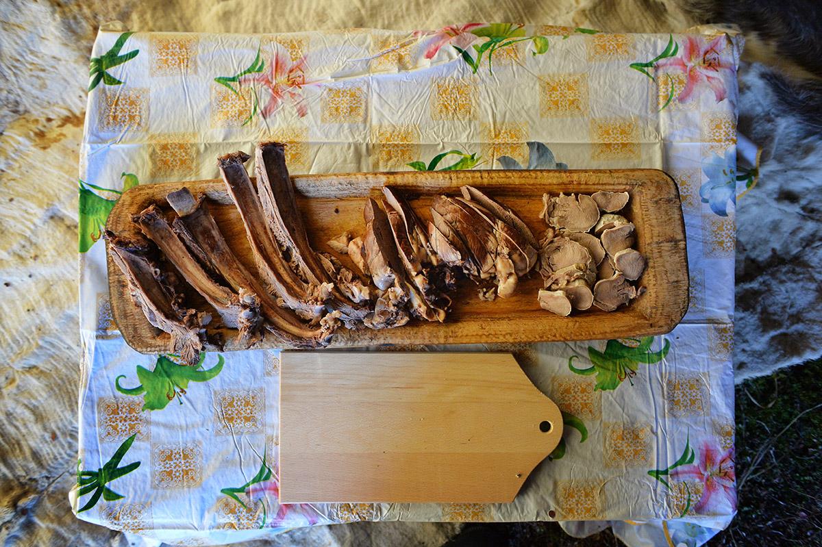 Патриарший визит в Анадырскую епархию. Посещение оленеводческой бригады в Канчаланском районе Чукотки