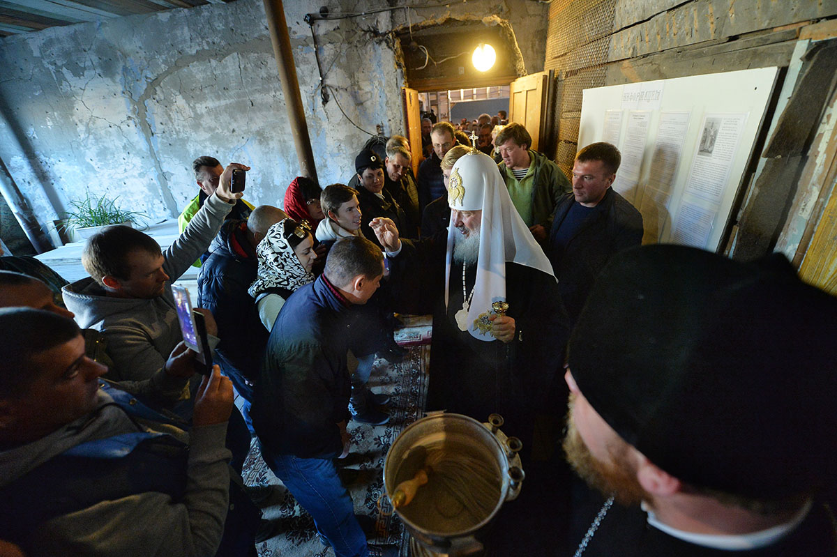 Патриарший визит в Анадырскую епархию. Посещение поселка Провидения