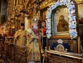 Святейший Патриарх Кирилл вознес молитву о страждущих недугом винопития