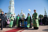 В Тамбове мощам преподобного Силуана Афонского поклонились 20 тысяч человек