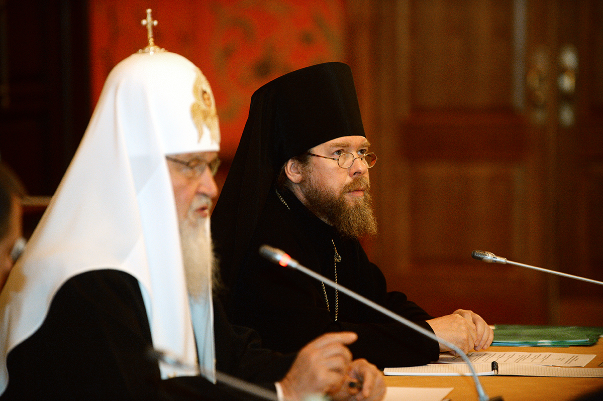 Встреча Святейшего Патриарха Кирилла с руководителями крупнейших музеев России