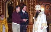 Частица мощей святого преподобного Серафима Саровского передана представителям Центра подготовки космонавтов
