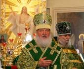 Святіший Патріарх Кирил підніс молитви за упокій душ співробітників МНС, загиблих під час гасіння пожежі в Москві