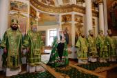 Проповедь Святейшего Патриарха Кирилла в день памяти прп. Силуана Афонского после Литургии в Даниловом ставропигиальном монастыре