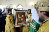 Проповедь Святейшего Патриарха Кирилла после Литургии в храме Всех святых, в земле Российской просиявших, в Новокосино г. Москвы