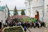 Тысячи верующих приняли участие в праздновании Собора Святогорских святых в Лавре на Святых Горах