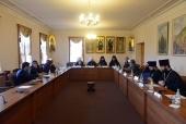 Митрополит Волоколамский Иларион встретился с делегацией Исламской Республики Иран, прибывшей в Москву для участия в X заседании совместной российско-иранской комиссии по диалогу «Православие-Ислам»