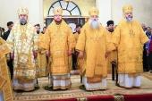 Торжества в честь установления дня памяти Собора Алтайских святых прошли в Барнауле