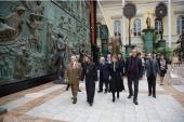 Митрополит Волоколамский Иларион посетил Российскую академию художеств