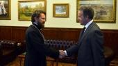 Председатель ОВЦС встретился с новоназначенным Послом Греции в России