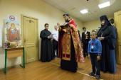 Приют для молодых матерей в кризисной ситуации освящен в Новодевичьем монастыре Санкт-Петербурга