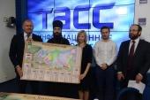 В Москве представлена настенная карта «Православная Россия»