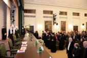 Под председательством Святейшего Патриарха Кирилла в Московской духовной академии состоялось торжественное заседание, посвященное 200-летию митрополита Макария (Булгакова)