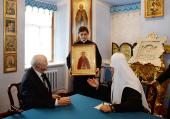 В Троице-Сергиевой лавре состоялась встреча Святейшего Патриарха Кирилла с князем Дмитрием Романовичем Романовым