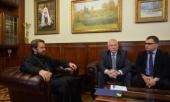 Председатель Отдела внешних церковных связей Московского Патриархата встретился с председателем Российского союза евангельских христиан-баптистов