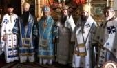 Состоялось рукоположение во иеромонаха новоизбранного игумена Русского на Афоне Пантелеимонова монастыря