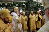 Святейший Патриарх Кирилл совершил богослужение в Успенском храме Русской Зарубежной Церкви в Лондоне