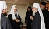 В Лондоне состоялась рабочая встреча Предстоятеля Русской Православной Церкви с Патриархом Сербским Иринеем