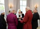 Святейший Патриарх Кирилл присутствовал на приеме в честь 300-летия русского Православия в Великобритании и Ирландии