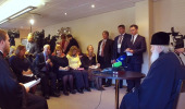 Святейший Патриарх Кирилл дал пресс-конференцию по итогам визита в Сурожскую епархию